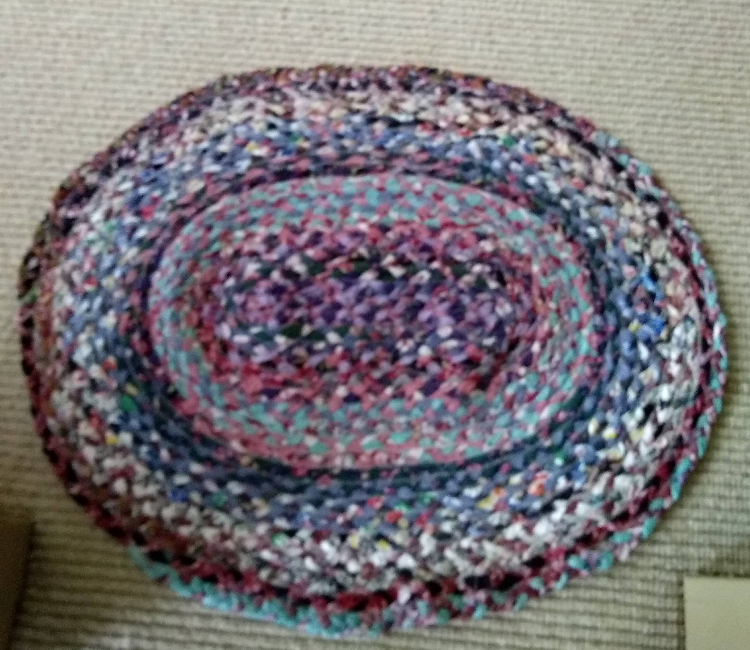 Rag Rug Braiding Cl Done Roving Yarns